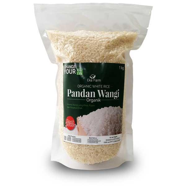 beras pandan wangi organik