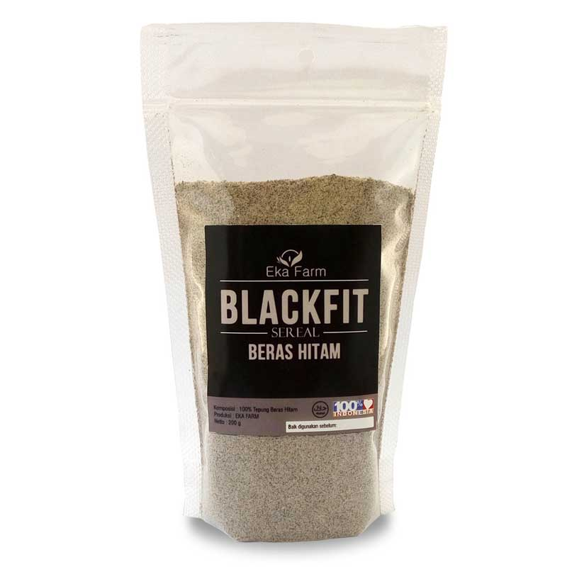 tepung beras hitam organik