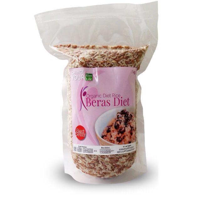 diet nasi merah dengan beras merah - jual beraas diet Bekasi